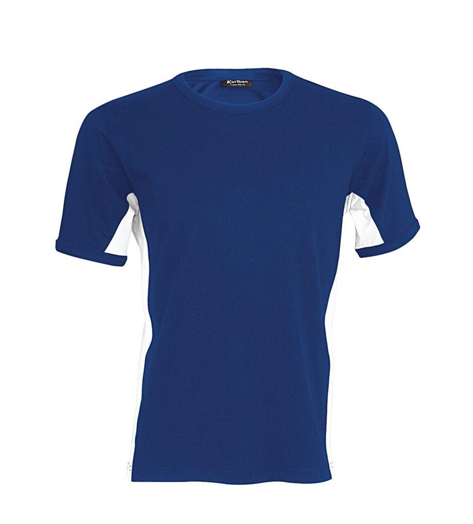kariban t shirt tiger ka tok340 royal blue wit pb. Black Bedroom Furniture Sets. Home Design Ideas