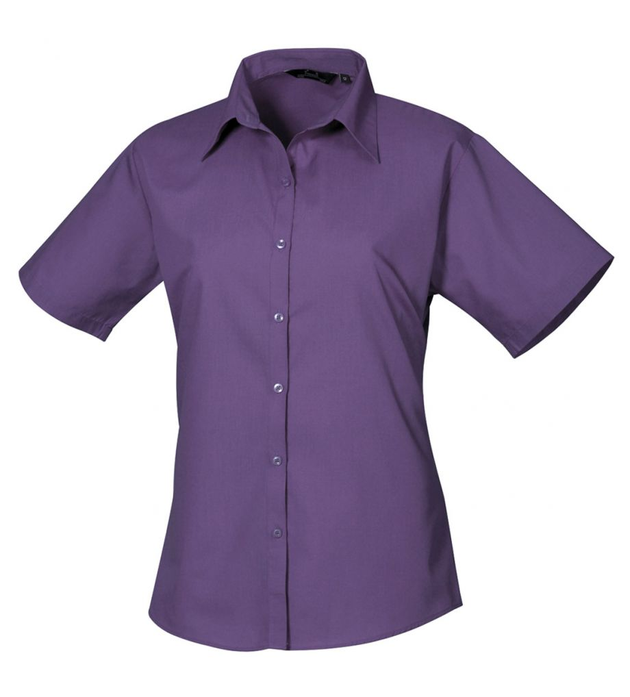 paars blouse dames